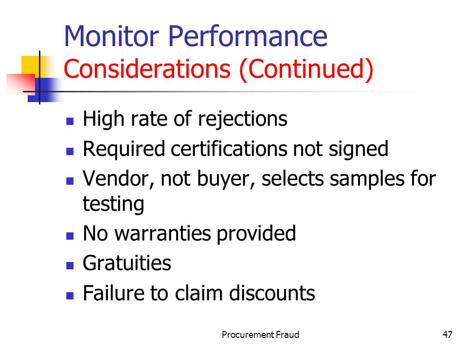 Monitor Performance Considerations (Continued)
