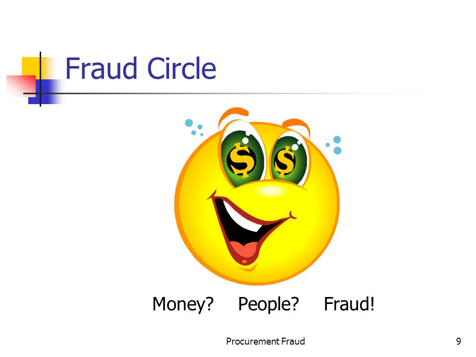 Fraud Circle Money People Fraud! Procurement Fraud