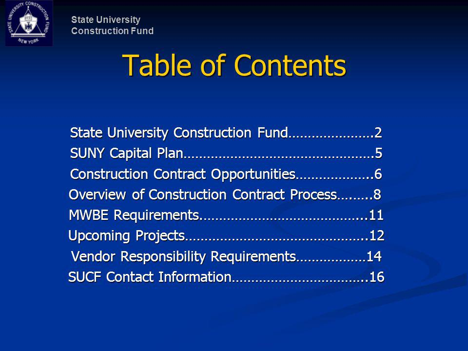 State University Construction Fund