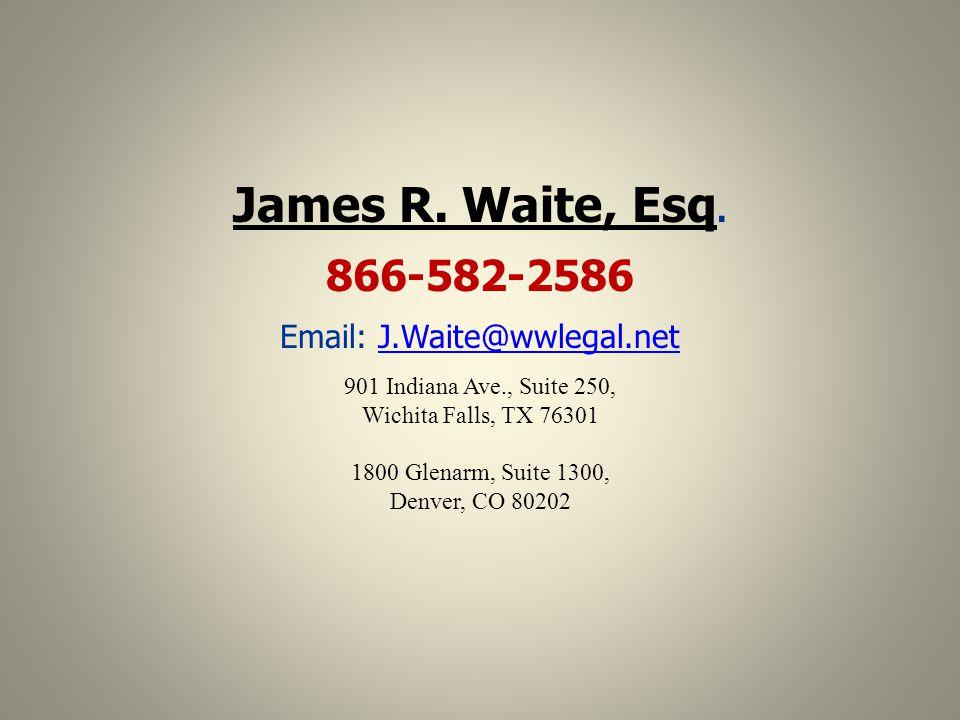 Email: J.Waite@wwlegal.net