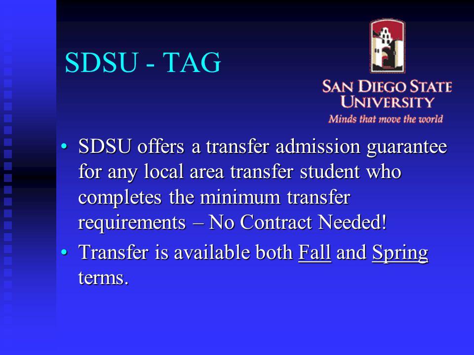 SDSU - TAG