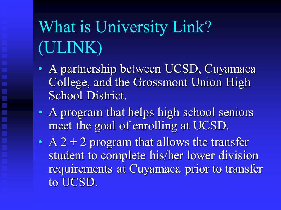 What is University Link (ULINK)