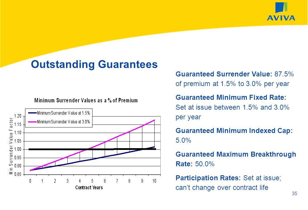 Outstanding Guarantees