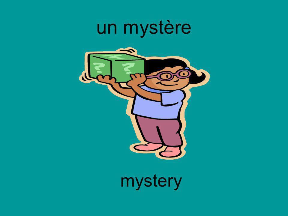 un mystère mystery