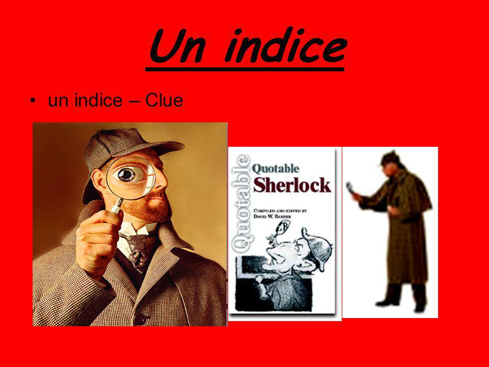 Un indice un indice – Clue