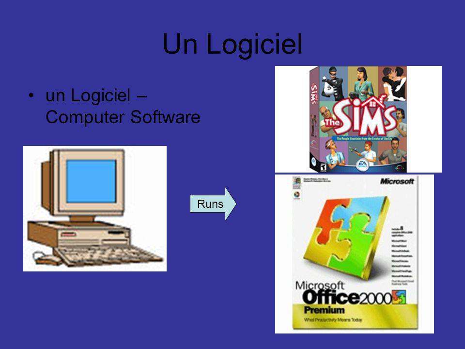 Un Logiciel un Logiciel – Computer Software Runs