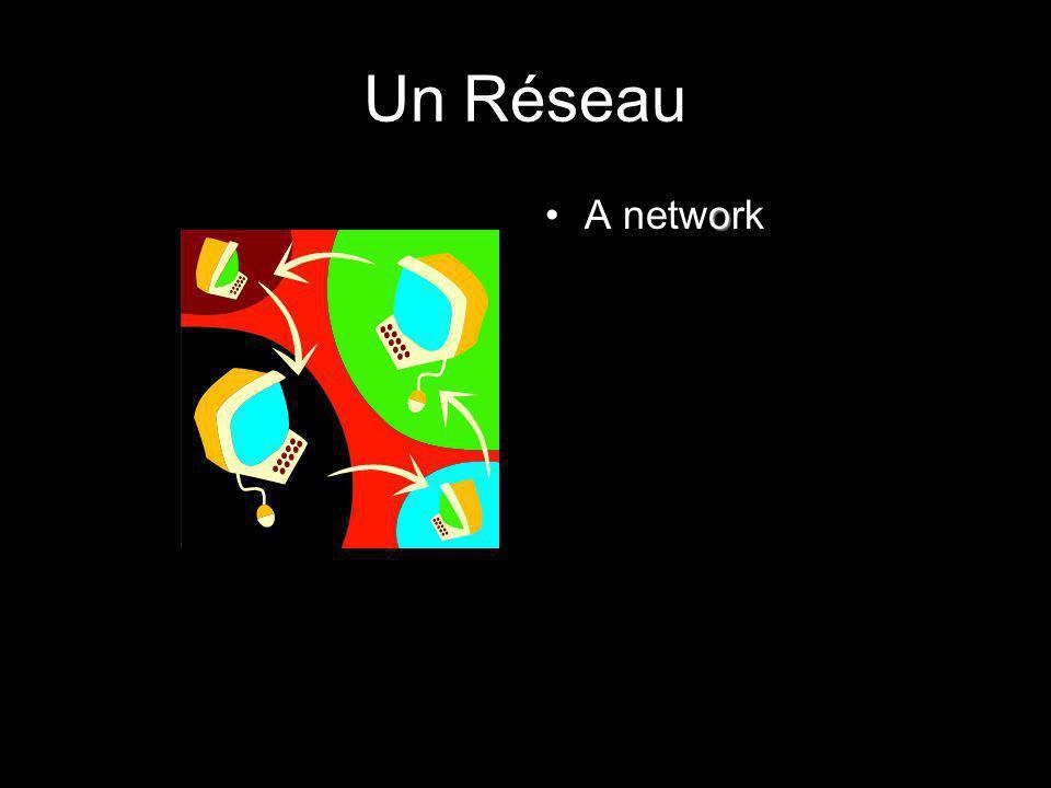 Un Réseau A network