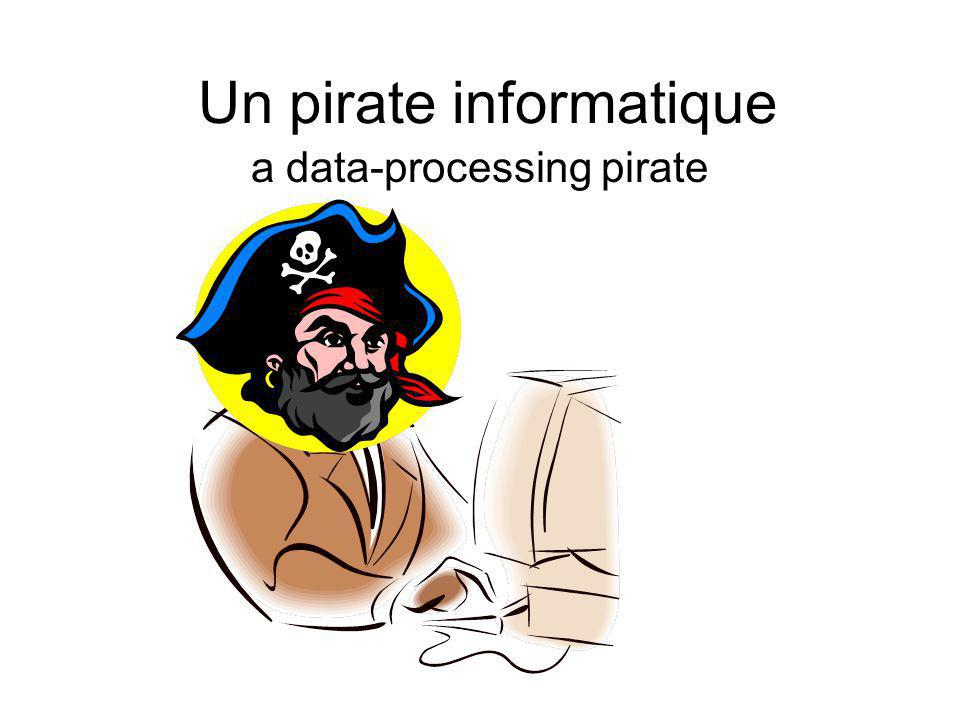 Un pirate informatique