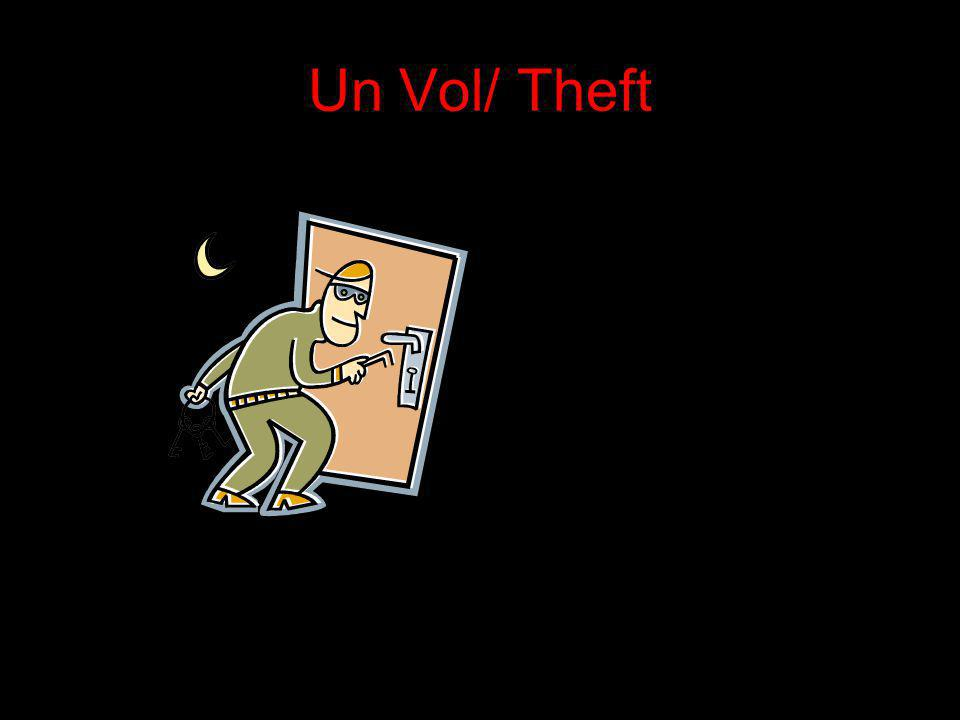 Un Vol/ Theft
