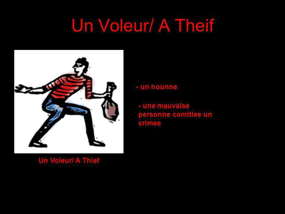 Un Voleur/ A Theif - un nounne
