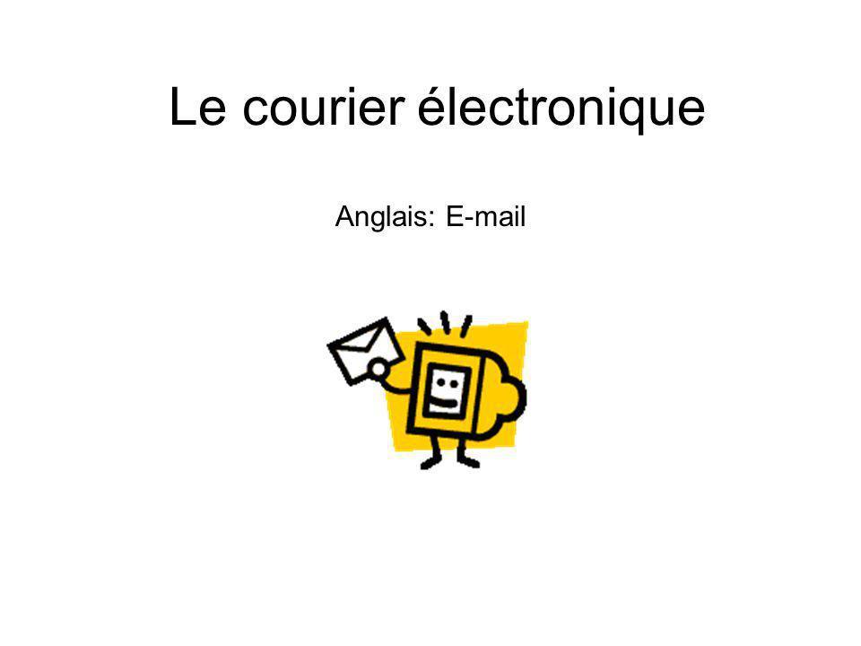 Le courier électronique