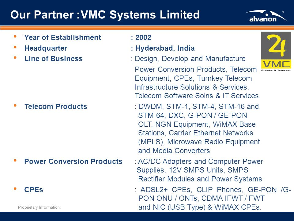 Our Partner: VMC Systems Limited
