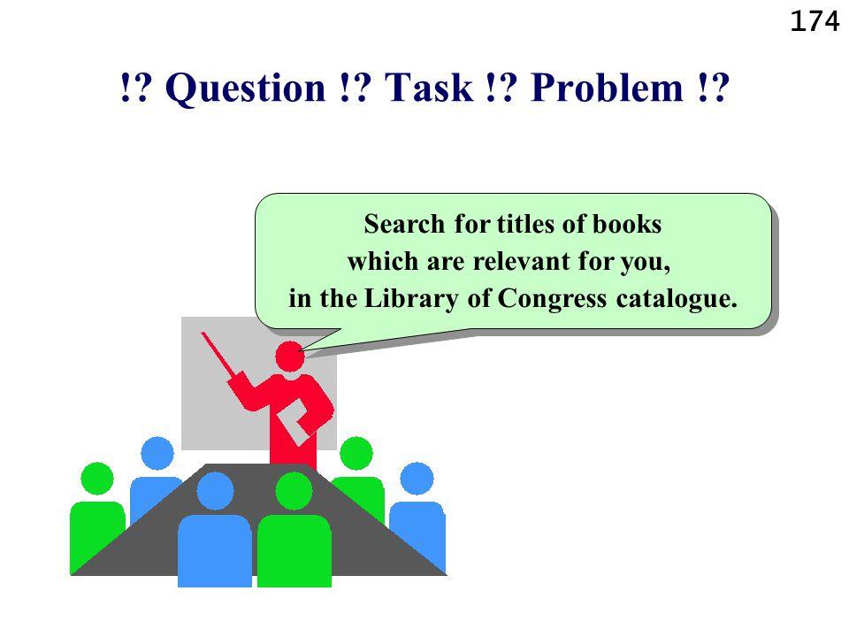 !. Question !. Task !. Problem !.
