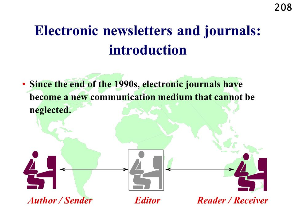 Electronic newsletters and journals: introduction