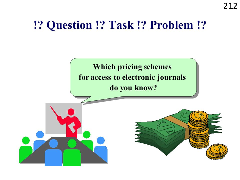 Which pricing schemes for access to electronic journals do you know