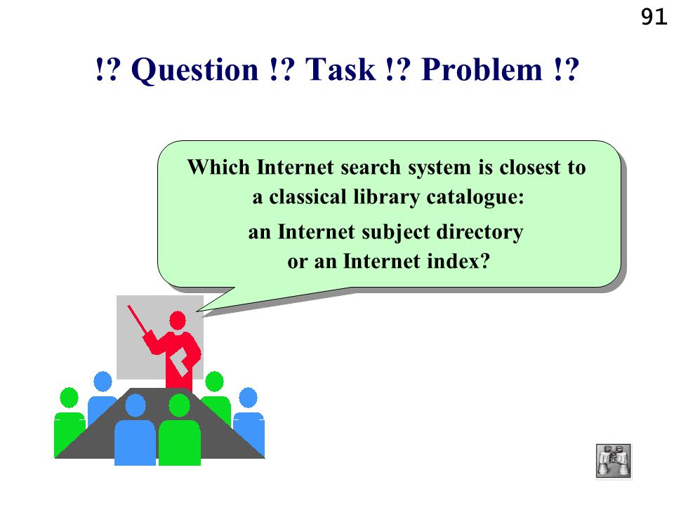 an Internet subject directory or an Internet index