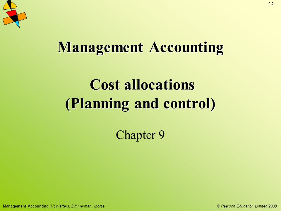 Management Accounting Cost allocations (Planning and control)