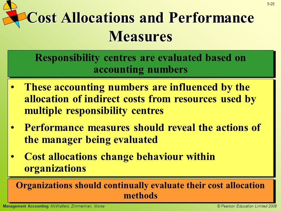 Cost Allocations and Performance Measures