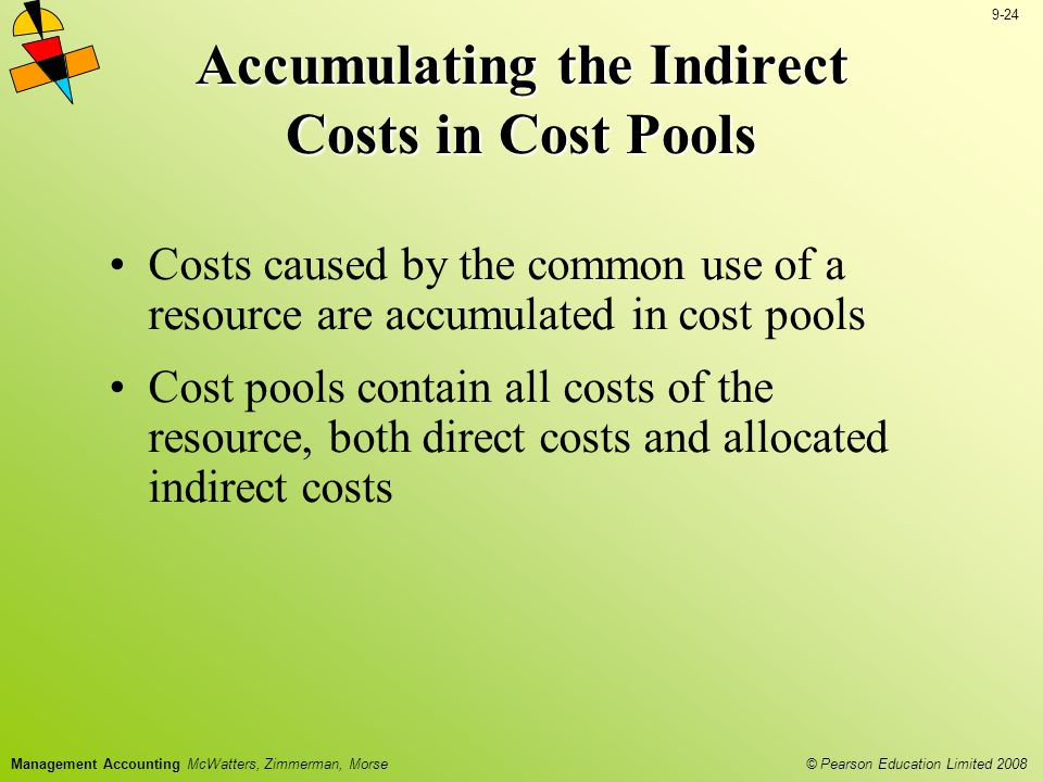 Accumulating the Indirect Costs in Cost Pools
