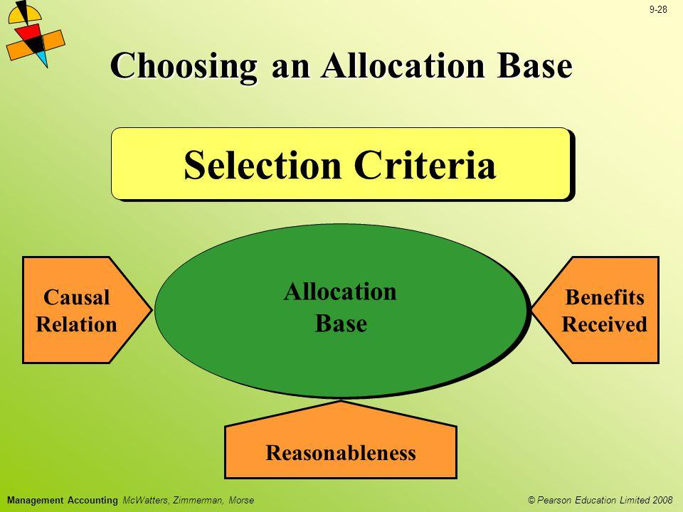 Choosing an Allocation Base