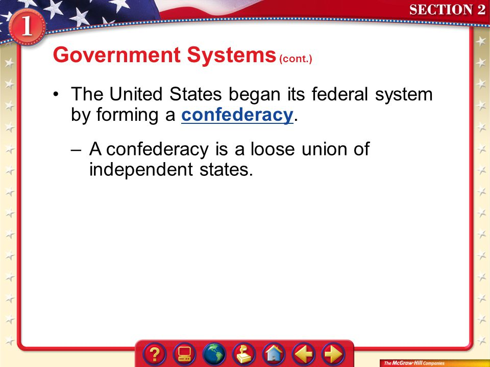 Government Systems (cont.)