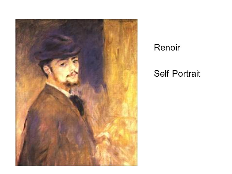 Renoir Self Portrait