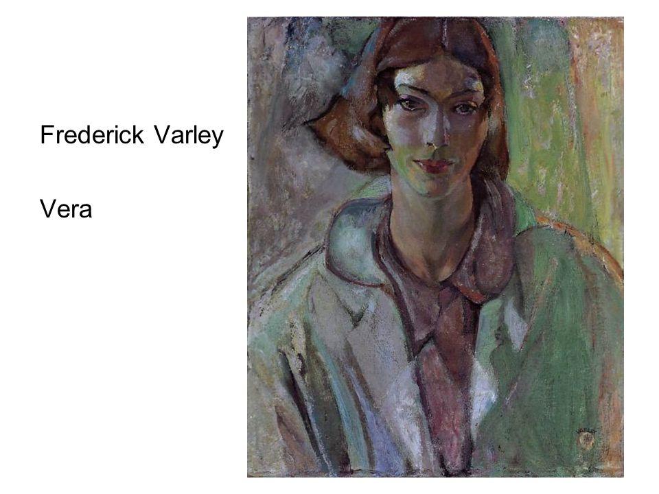 Frederick Varley Vera