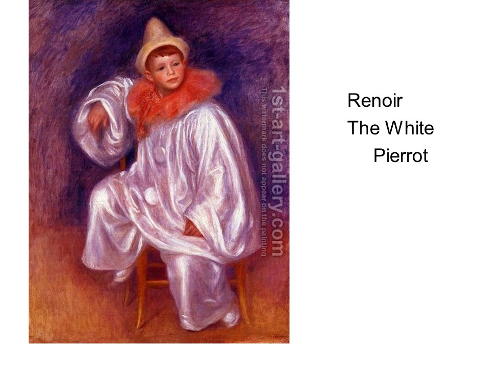 Renoir The White Pierrot