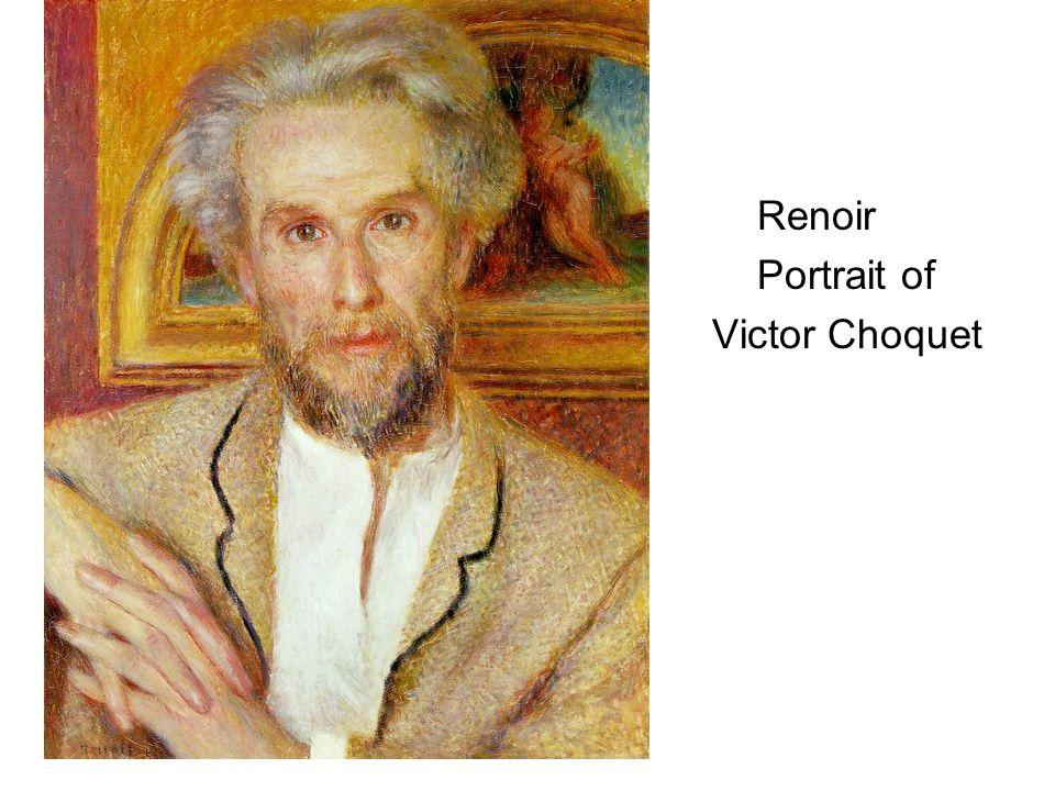 Renoir Portrait of Victor Choquet