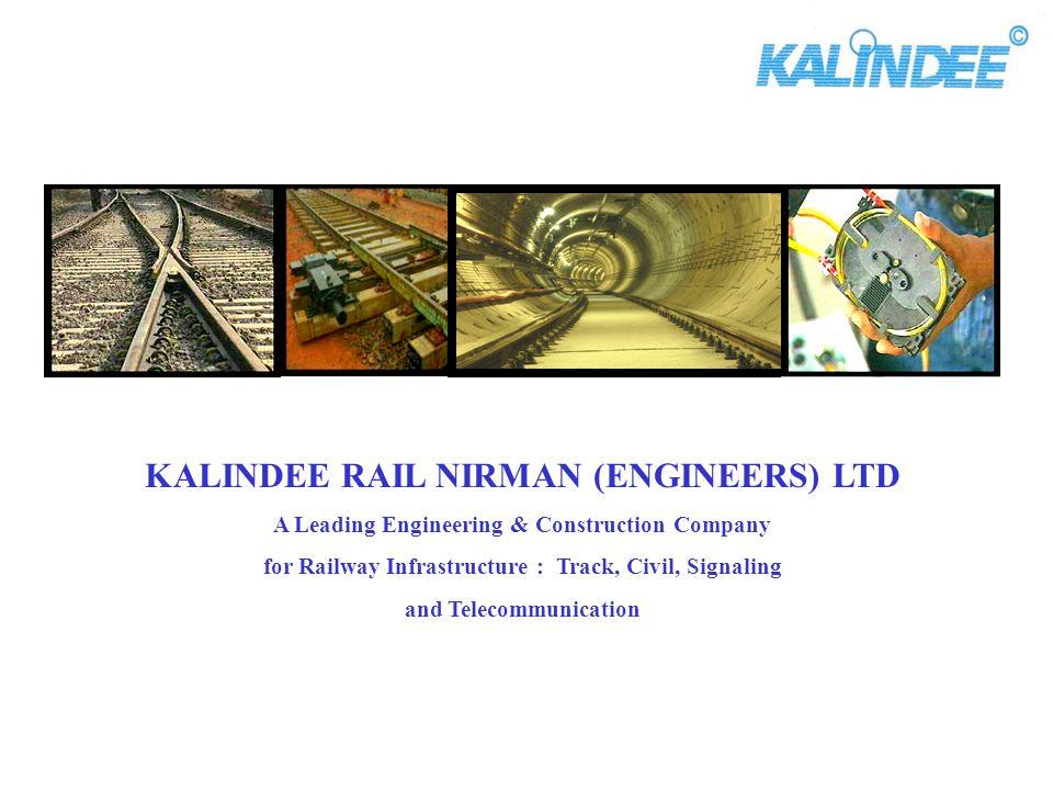 KALINDEE RAIL NIRMAN (ENGINEERS) LTD