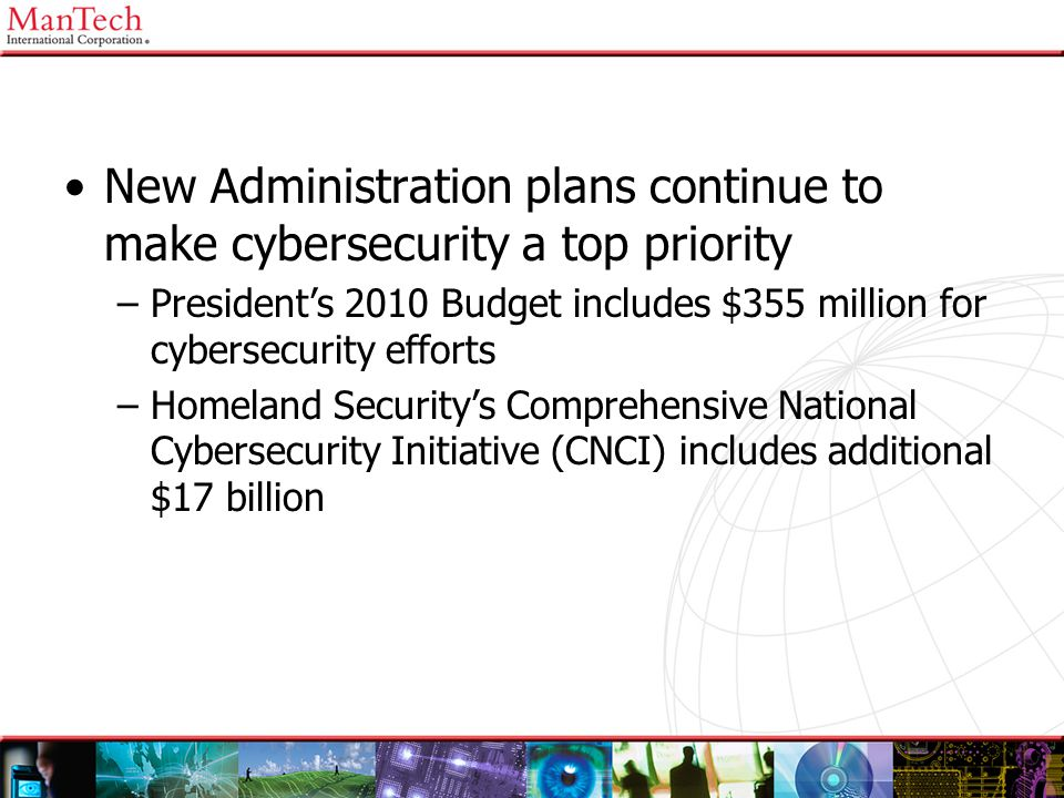 New Administration plans continue to make cybersecurity a top priority