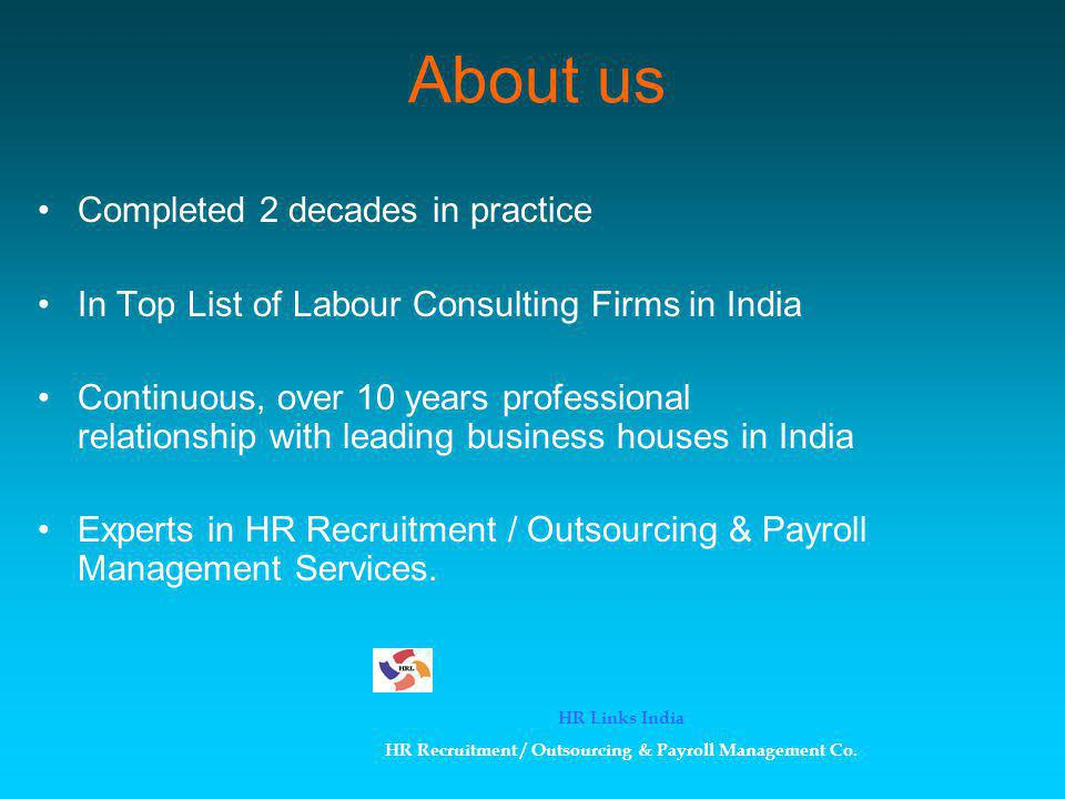 HR Recruitment / Outsourcing & Payroll Management Co.