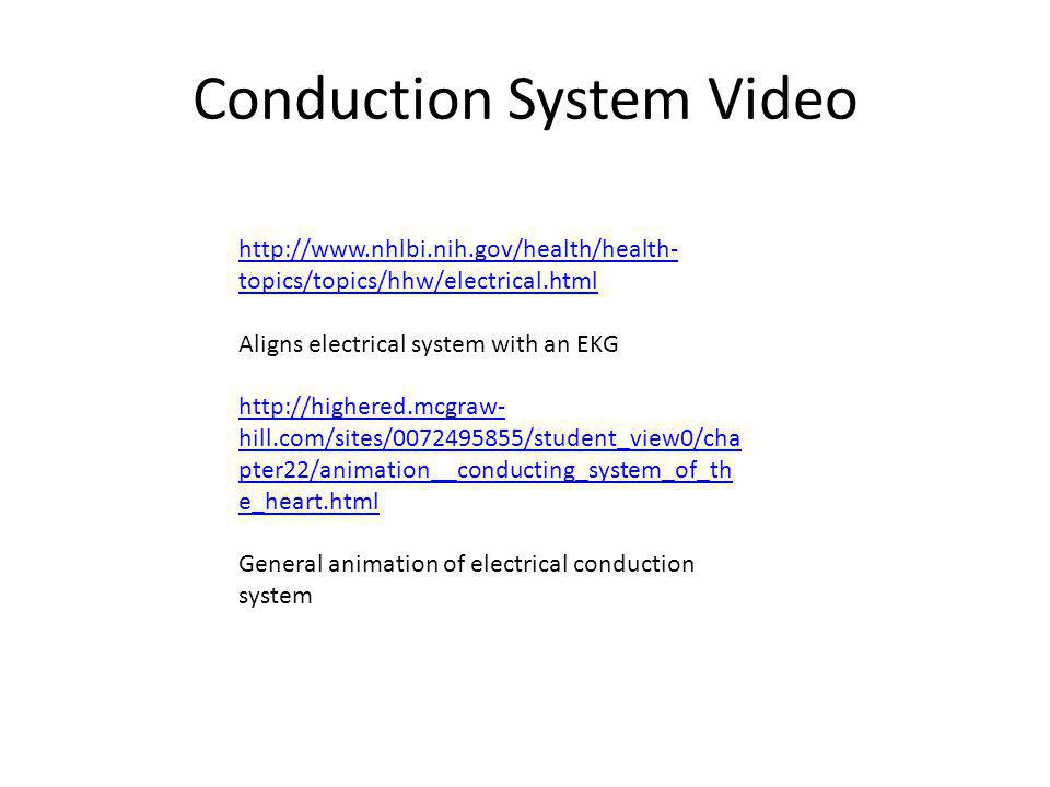 Conduction System Video