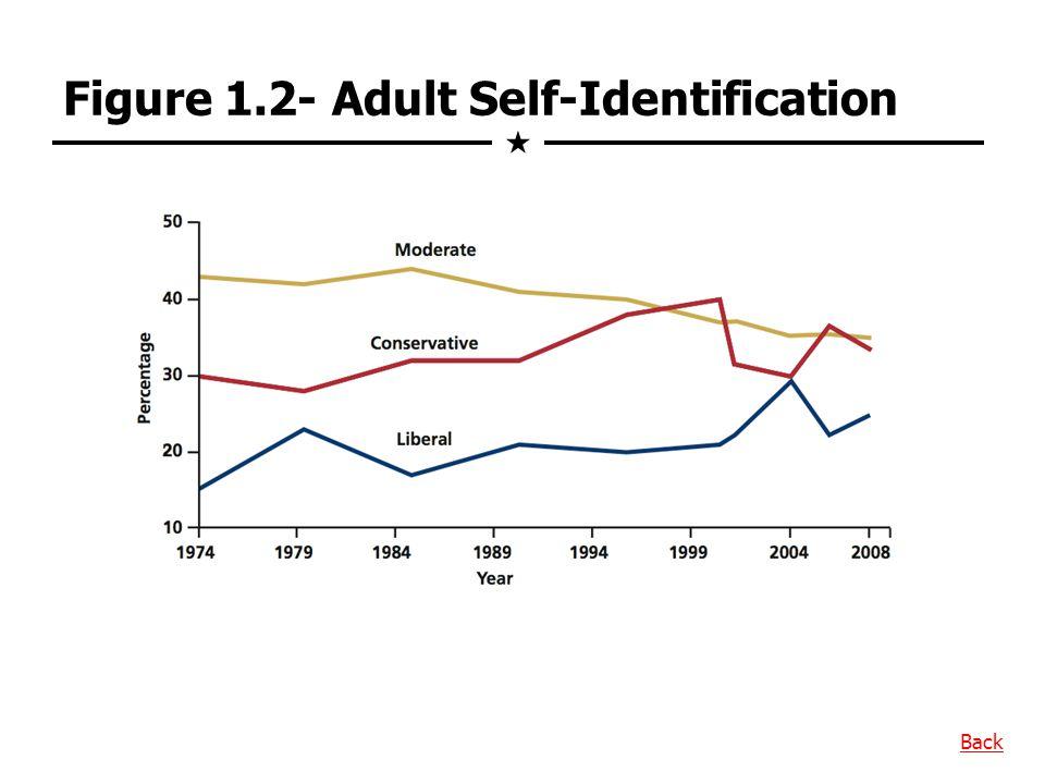 Figure 1.2- Adult Self-Identification