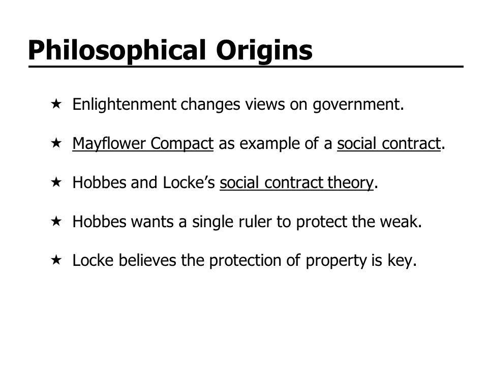 Philosophical Origins