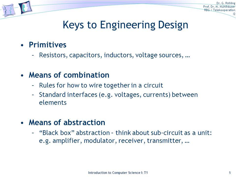 Keys to Engineering Design