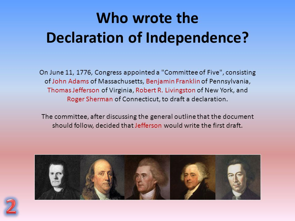 understanding the focus of the declaration of independence The moment had finally come far too much bad blood existed between the  colonial leaders and the crown to consider a return to the past more and more.