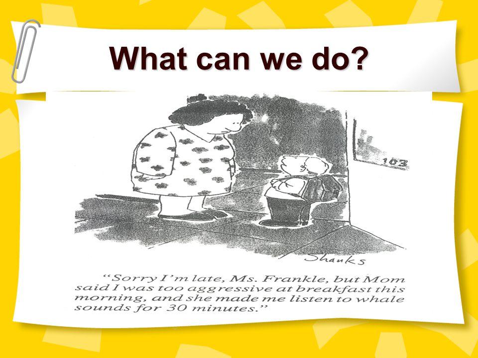 What can we do myell@gwm.sc.edu christle@gwm.sc.edu