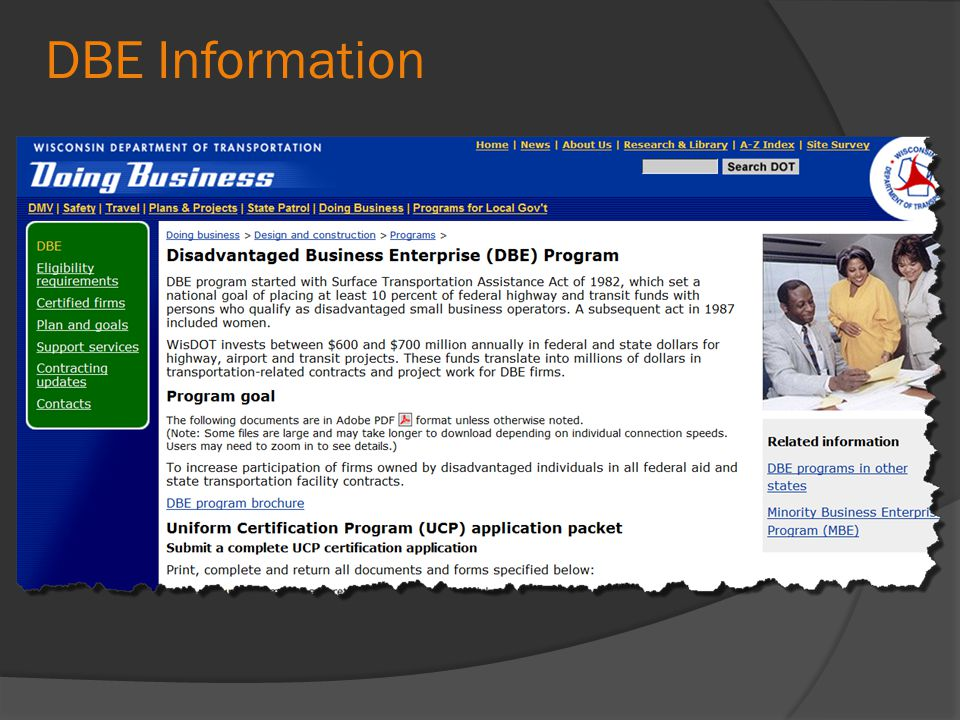 DBE Information
