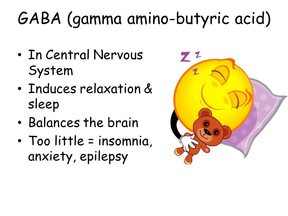 GABA (gamma amino-butyric acid)
