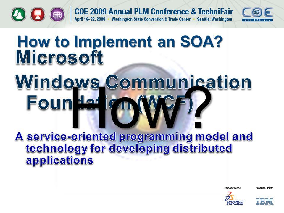How Microsoft Windows Communication Foundation (WCF)