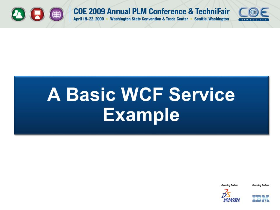 A Basic WCF Service Example