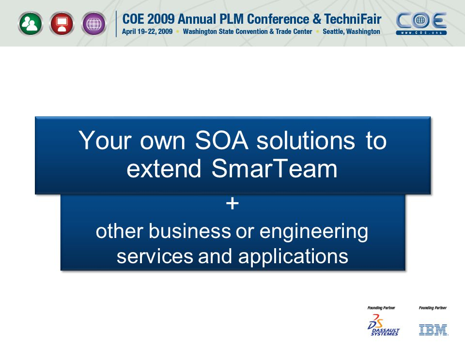 Your own SOA solutions to extend SmarTeam