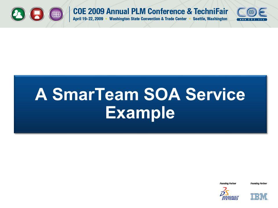 A SmarTeam SOA Service Example