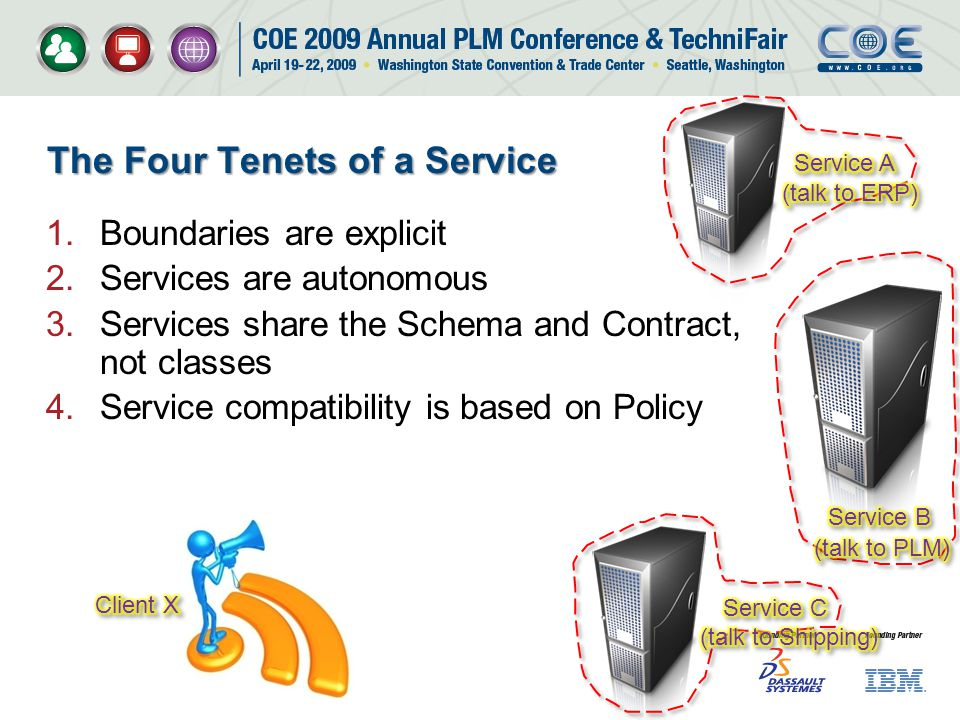 The Four Tenets of a Service