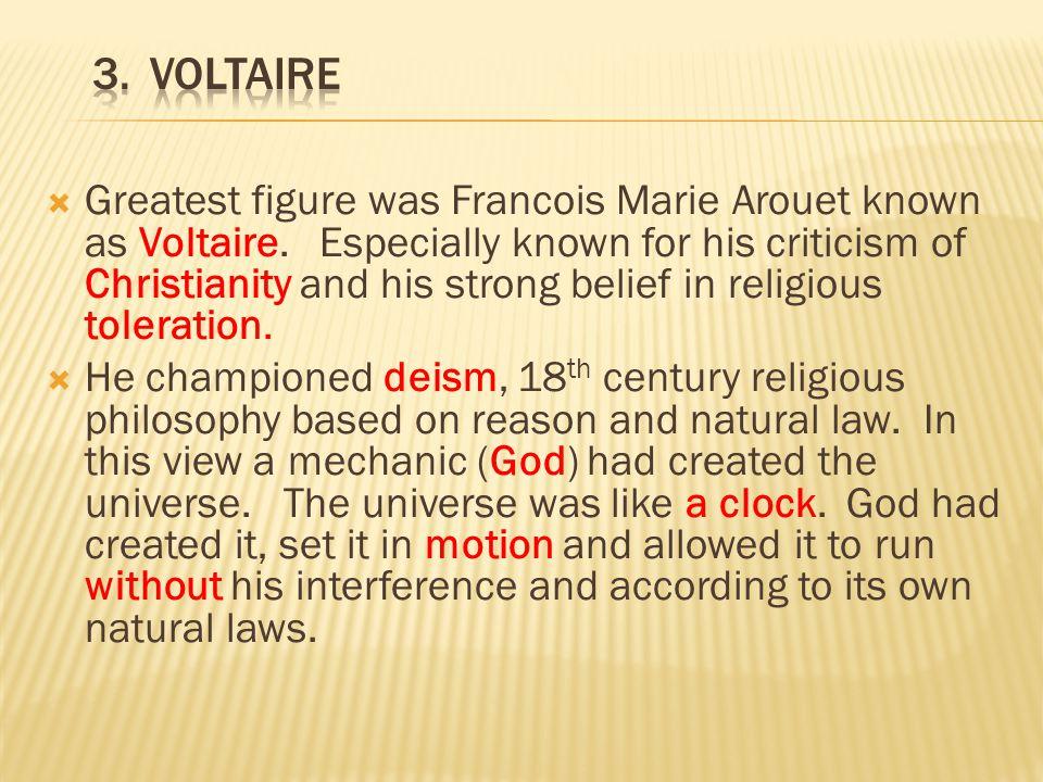 3. Voltaire