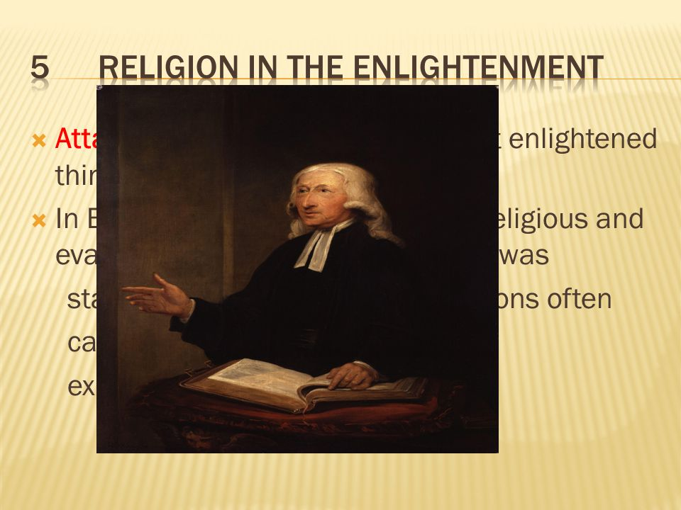 5 Religion in the Enlightenment