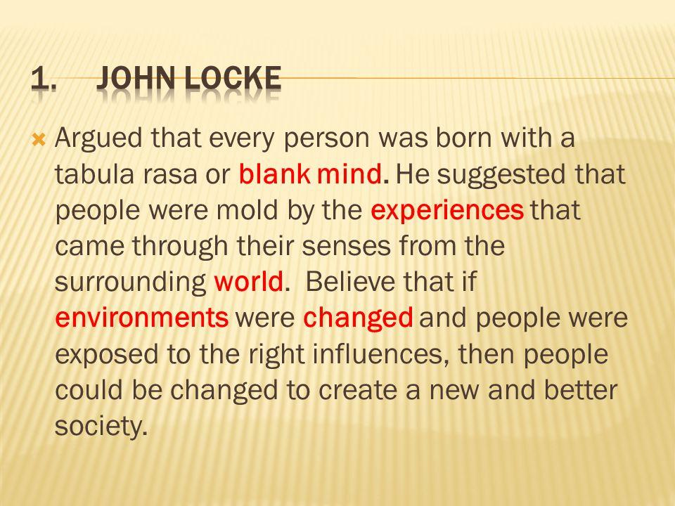 1. John Locke