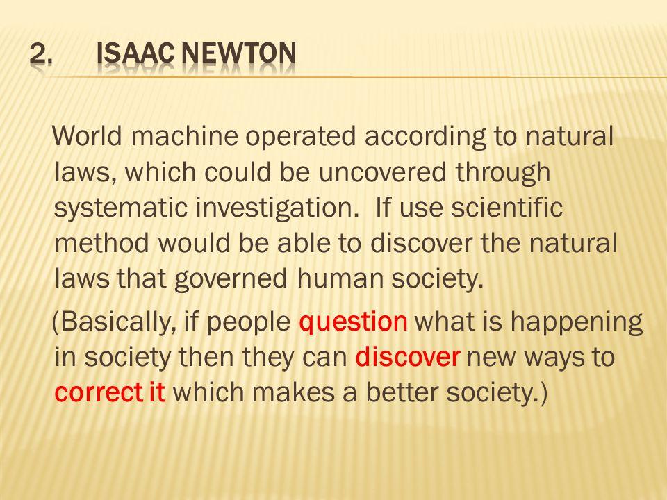 2. Isaac Newton