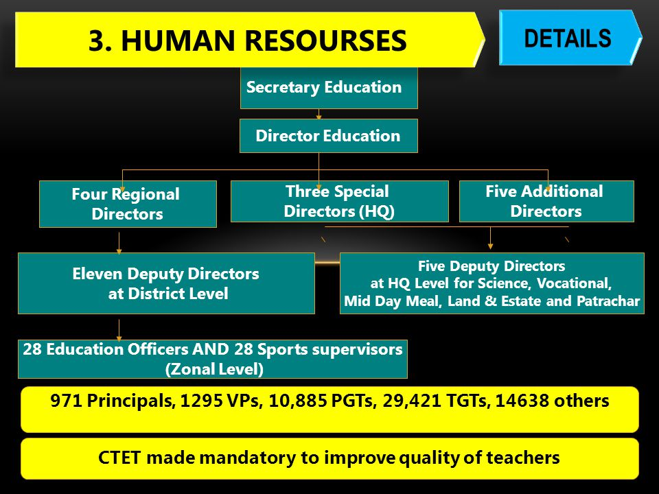 3. HUMAN RESOURSES DETAILS